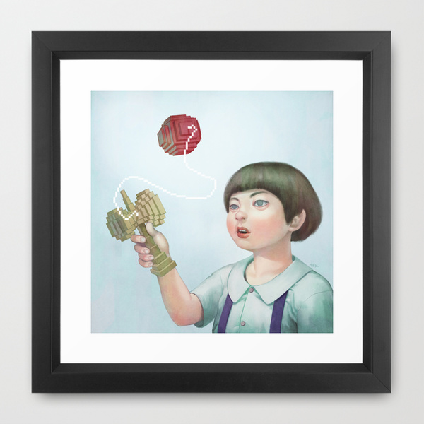 Kendama Print Available